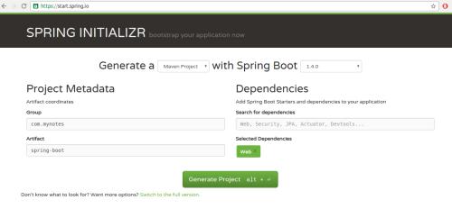 spring-initializer